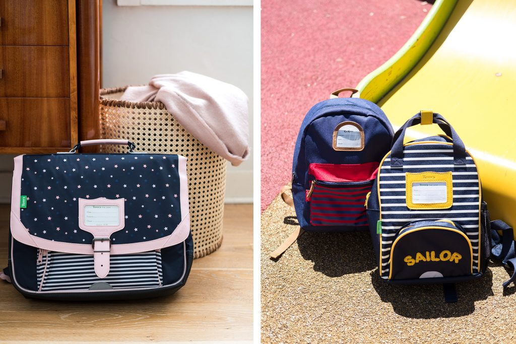 2 Blog La Cartablerie Maroquinerie Scolaire Cartable Maternelle Sac Rentree Tanns Kickers Mariniere Rayures