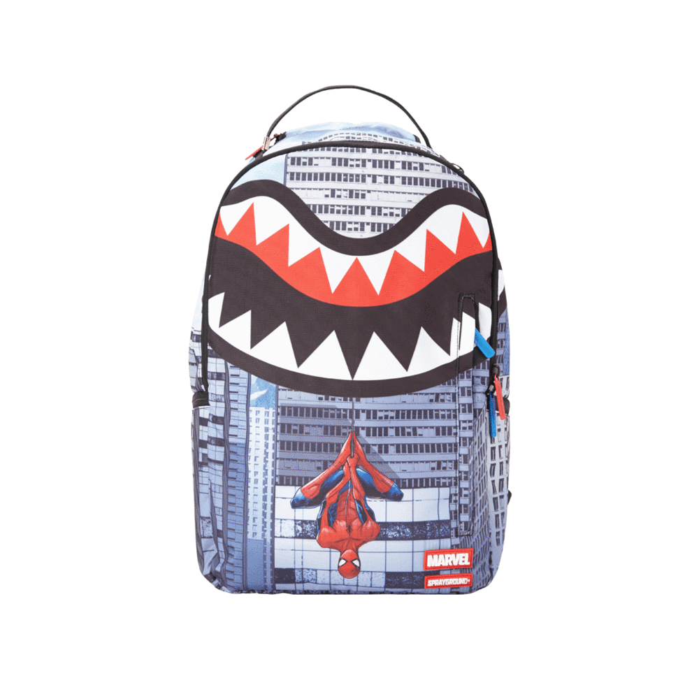Sac à dos Sprayground Spiderman Upside Down Shark